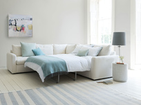 Chatnap comfy modular corner sofa bed with arms