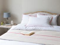 Lazy Daze pillowcase in Dust pink