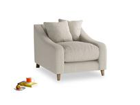 Deep comfy handmade Oscar luxury British made armchair