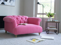 Dixie deep and comfy chesterfield buttoned love seat