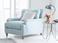 Luxury British made deep comfy Pavlova armchair