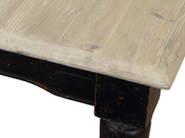 Extending reclaimed wood Toaster dining table