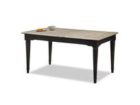 Toaster extendable and expandable dining table