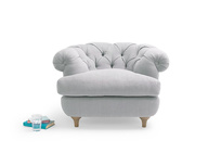 Chesterfield style small occasional bedroom Swaggamuffin armchair