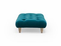 Comfty chesterfield style footstool