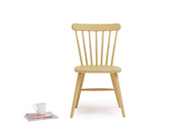 Natterbox spindle back wooden dining chairs