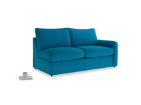 Chatnap Sofa Bed in Bermuda Brushed Cotton with a right arm