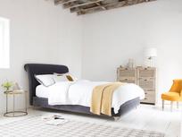 Dumpling curved comfy bed