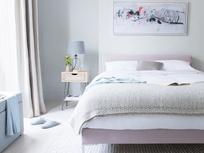 Chrome contemporary bed