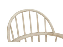 Burbler spindle back wooden chair