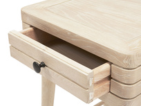 Little Groover grooved bedside table