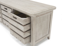 Welly wooden storage bench