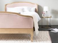 Bobble Pink woven floor rug