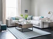 Atticus comfy large corner sofa