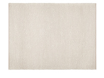 Bobble woven floor rug in Putty
