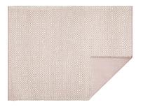 Bobble woven floor rug in Pink