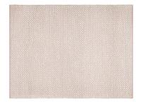 Bobble floor rug in Pink
