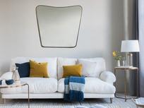 Big Brass wall mirror