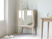 Trixie small mirrored drinks cabinet