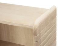 Little Bubba small wooden blonde oak shelving unit
