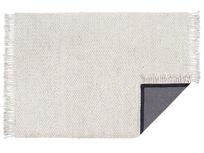 Chunkster chunky knitted floor rug underlay detail
