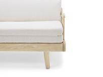 Kipster solid oak wood daybed
