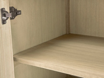 Grand Kanoodle sideboard shelf detail