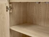 Grand Fandangle wooden sideboard inside detail