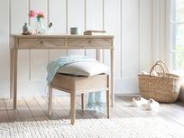Lippy dressing table storage stool