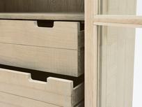 Super Kernel kitchen larder cabinet drawer detail
