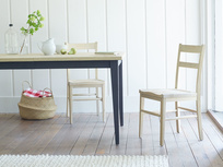 Idler wooden dining chair in Natural