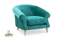 Schnaps upholstered tub armchair