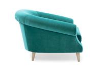 Schnaps tub love seat side detail