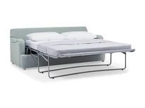 Jonesy upholstered sofa bed open detail