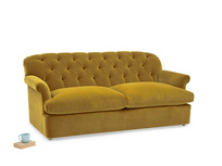Truffle button back comfy sofa bed