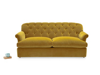 Truffle button back chesterfield style sofa bed