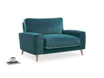 Strudel upholstered handmade love seat