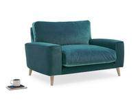 Strudel upholstered handmade armchair