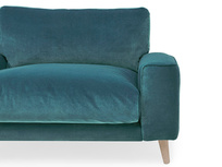 Strudel low arm love seat