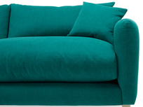 Squishmeister comfy sofa front detail