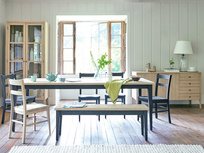 Kernal wooden painted kitchen table