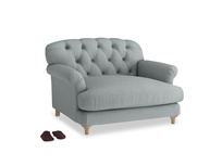 Truffle Love seat in Armadillo Clever Softie