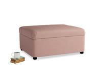 Single Bed in a Bun in Tuscan Pink Clever Softie