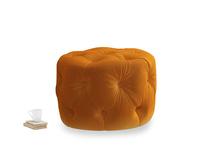 Gumdrop in Spiced Orange clever velvet