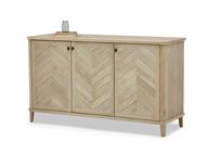 Grand Fandangle wooden sideboard in parquet style