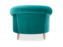 Schnaps bucket armchair back detail