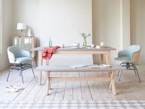 Conker concrete kitchen table