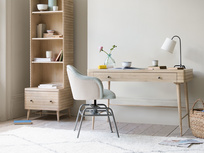 Clever Bubba retro styled wooden desk