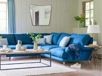 Slowcoach large comfy l shaped corner sofa