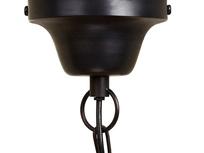 Treasure black chandelier light ceiling rose
